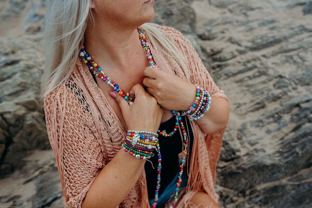 Stacking Beaded Jewellery