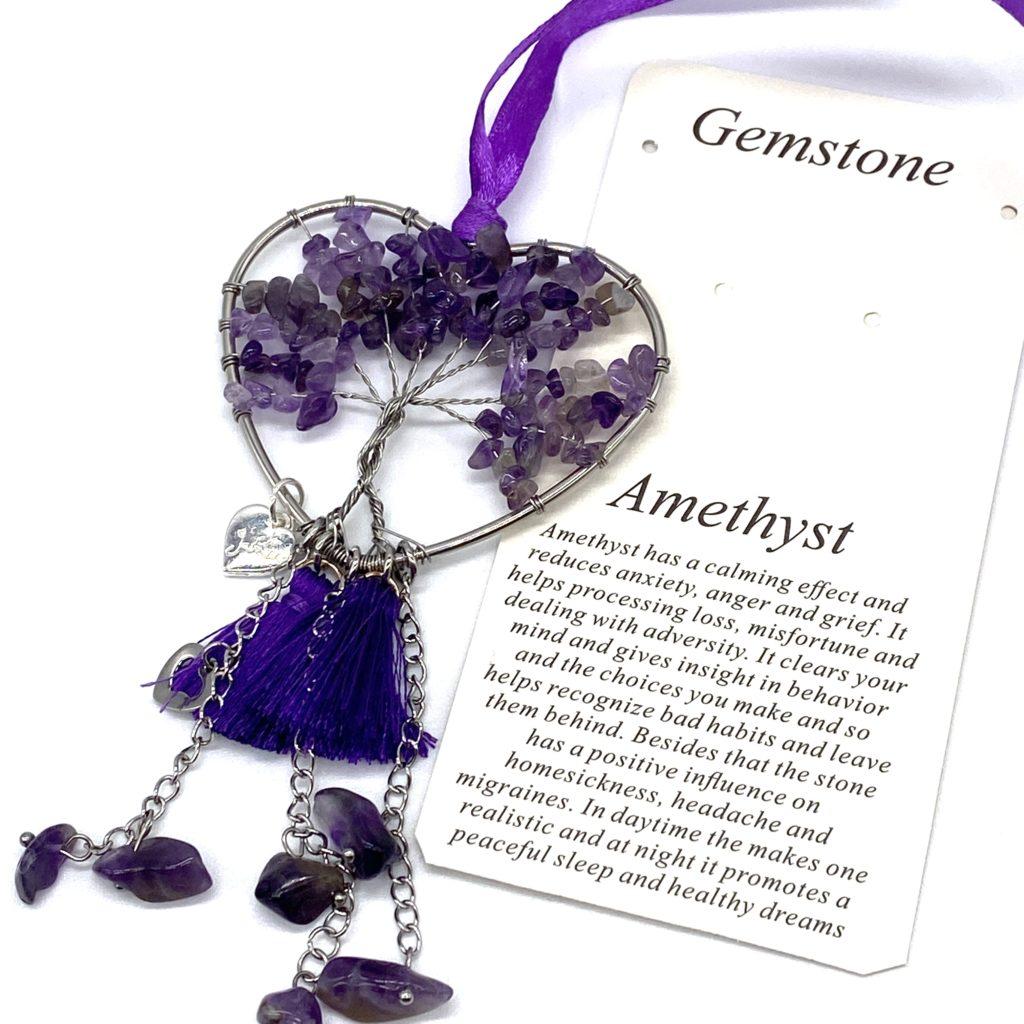 Gemstone Hanging Charm